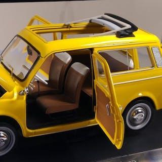 Norev - 1:18 - Fiat 500 Giardiniera 1968 Kleur Positano Yellow