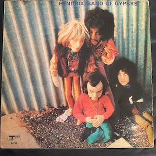 Jimi Hendrix' Band Of Gypsys - Band Of Gypys With The...