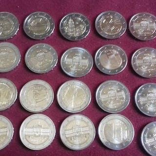 Europa - 2 Euro 2017/2019 commemorativi (20 monete)
