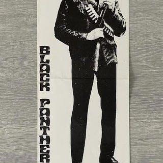 Huey P Newton - Extreme rare Huey P Newton poster - 1968