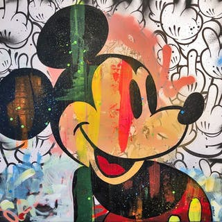 Dillon Boy - Dillon Boy vs Andy Warhol / Vintage Mickey Mouse