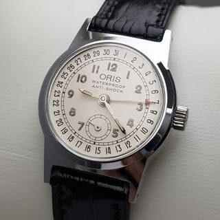 "Oris - ""NO RESERVE PRICE"" Pointer Date Small Second..."