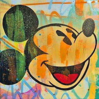 Dillon Boy - Dillon Boy vs Disney / Classic Mickey Mouse Face