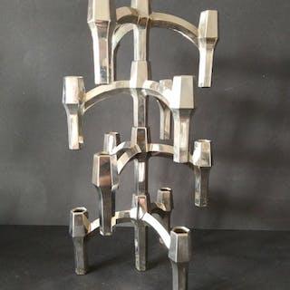 Convoluta di 4 candelabri impilabili