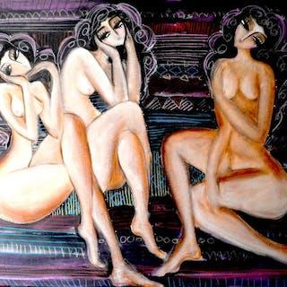Hrasarkos- Trois nus