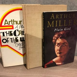 Arthur Miller - Lot of three Arthur Miller first editions (incl