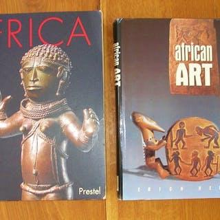 Libri sull'arte tribale africana (2) - Carta - Africa
