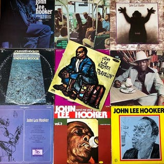 John Lee Hooker - Great Lot Of 10 Albums By This Blues...
