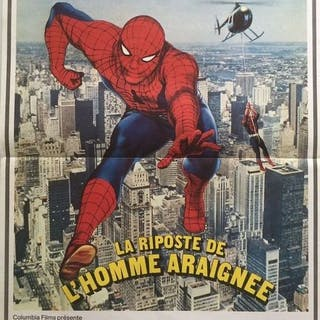 Spider-Man Strikes Back, 1978 - Nicholas Hammond - French movie-poster