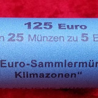 Germany - 5 Euro - Original Rolle - 2018 Münze Subtropische Zone
