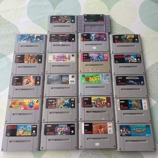 Nintendo Snes - lotto di 22 giochi snes - Senza scatola originale
