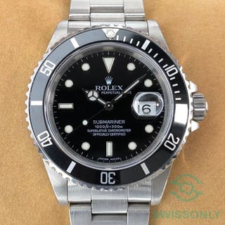 Rolex - Submariner Date - 16610 - Men - 1990-1999