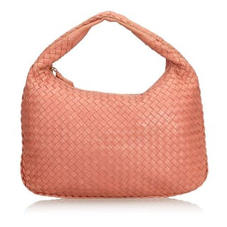 Bottega Veneta - Intrecciato Leather Hobo Bag Hobo Bag