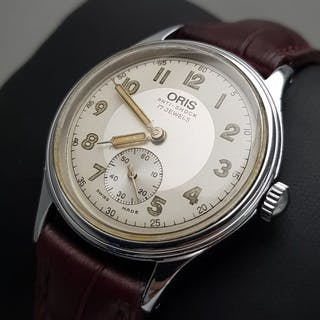 "Oris - ""NO RESERVE PRICE"" Mechanical Small Second Vintage..."