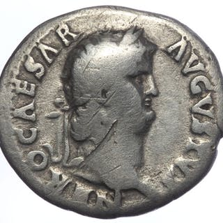 Roman Empire - Denarius - Nero (54-68) - Vesta (RIC 62) - Silver
