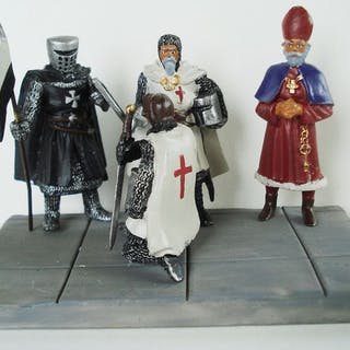 Storia del Medioevo Hobby & Work - Diorama - Investitura...