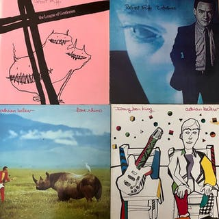 King Crimson & Related - Lot Of 4 Great Albums By Adrian...