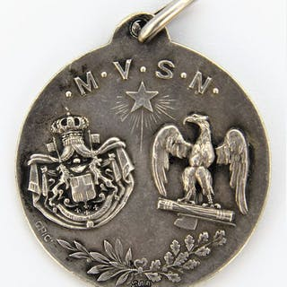 Italia - M.V.S.N. San Sebastiano  - Medaglia, RR ( Rarissimo) - 1929