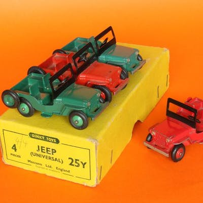 Dinky Toys - 1:43 - Jeep - Made in Liverpool