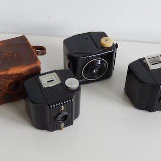 Kodak 2x Baby Brownie en 1x Baby Brownie Special