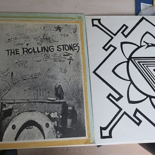 Rolling Stones - Nice Lot with 2 Rare Bootlegs of The...