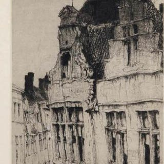 Jules de Bruycker (1870-1945) - Porte St. Denis, Paris