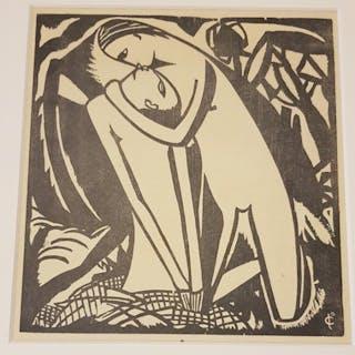 Josef Cantre - Taglia di legno