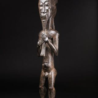 Usu Asian Engineering Statue - Baoule - Ex K. Brown, USA - Côte d'Ivoire