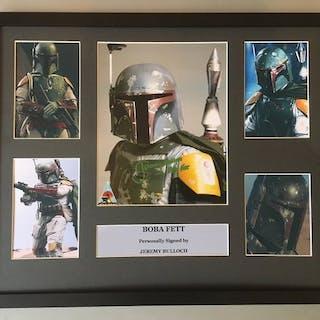 Star Wars - Boba Fett - Jeremy Bulloch - Signed Photo in...