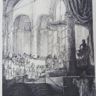 Rembrandt van Rijn ( 1606 - 1669 ) - Le mariage de Jason et Créuse ( La Médée à