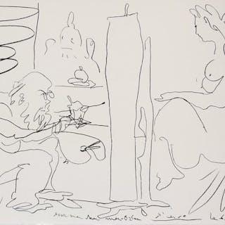 Pablo Picasso- Modèle et son peintre