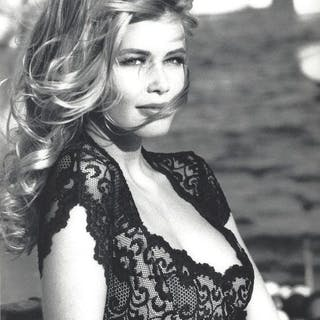 Ellen Von Unwerth (1954-) - Claudia Schiffer, 'Guess', Mykonos, Greece, 1990