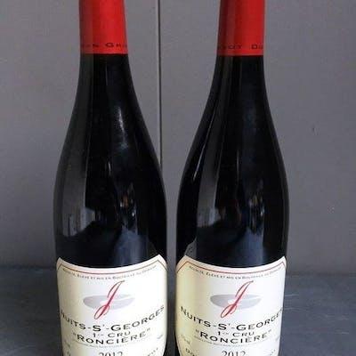 """2012 Nuits-Saint-Georges Premier Cru""""Ronciere"""" - Domaine Jean Grivot - Nuits St"""