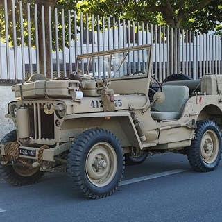 Willys - Jeep MB ¨Allestimento S.A.S. deserto¨ - 1942
