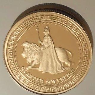 Vereinigtes Königreich - QuarterSovereign 2012 Diamond Jubilee - Gold