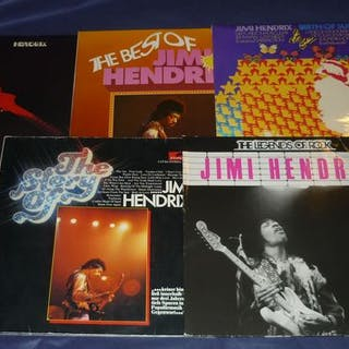 Jimi Hendrix Experience - 5 records incl