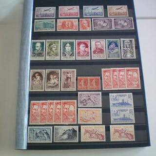 Francia 1862/1959 - A very nice set of stamps