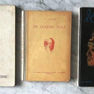 Hans Kresse - De Gouden Dolk - Hardcover - 1