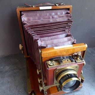 Lancaster & Son J. Field Plattenkamera