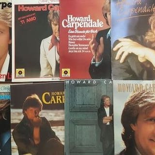 Howard Carpendale - 7 x Lp and 1 x double LP - Diverse...