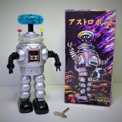 Japan Lost In Space Jupiter B 10 Robot Uhrwerk 1980 1989
