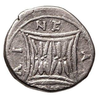 Griechenland (Antike) - AR Drachme, Illyrien, Apollonia (~229-100 BCE), Kuh