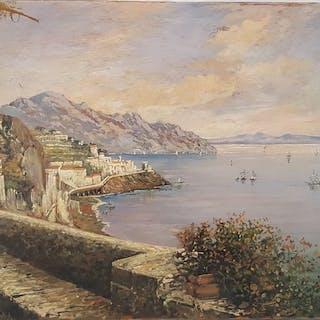 Consalvo Carelli ( 1818-1900) - Amalfi