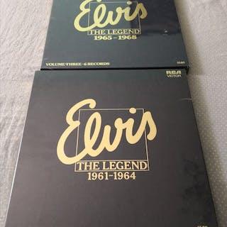 Elvis Presley - Elvis The Legend Volume 2 & 3 - Diverse Titel - LP Boxset - 1981