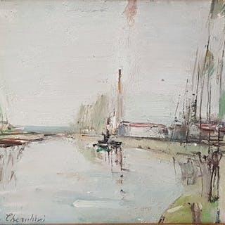 Carlo Cherubini (1897-1978) - Paesaggio