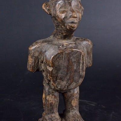 Statue de protection - Bois - Nsiki - Kongo / Bakongo - Congo RDC
