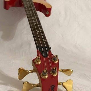 Chranov- Piezo BBass Gitarre E - Guitar - Quadruple-neck...