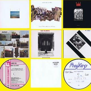 400 Blows - Diverse Titel - (Menge von 2 LPs und 5x...