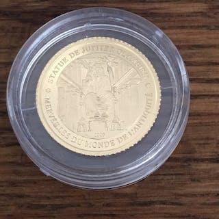 Elfenbeinküste - 1500 Francs CFA - 2006 'Die Zeusstatue des Phidias' -1 g - Gold