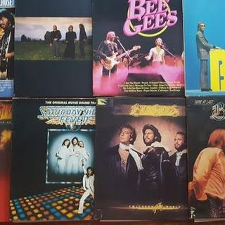 Bee Gees - 5 x LP Albums and 3 x Double album - Diverse...